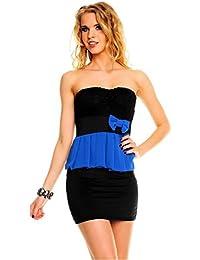 Damen Kleid Minikleid Abendkleid Cocktail Partykleid Neu KL11