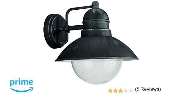Philips illuminazione esterna damasco lanterna muro ferro