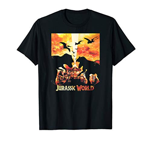 Jurassic World Dinosaur Destruction T-Shirt -