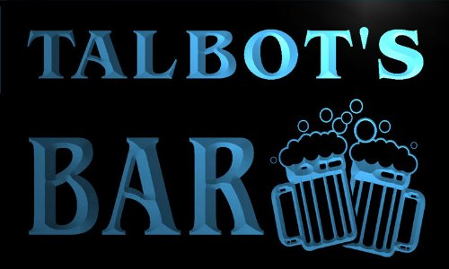 w002221-b-talbots-nom-accueil-bar-pub-beer-mugs-cheers-neon-sign-biere-enseigne-lumineuse