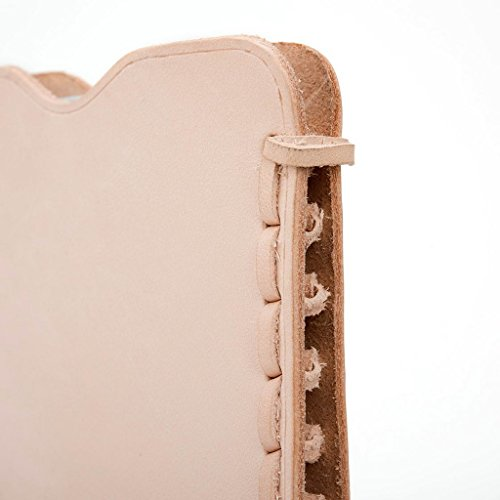 Kroo Étui ultra fin en cuir véritable pour téléphone portable Vivo