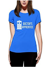 Dr's Apprentice Who Women Fitted Top T-Shirt