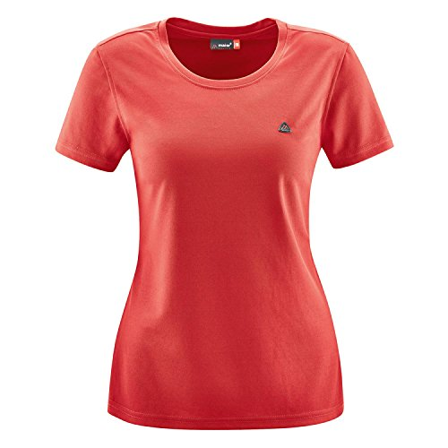Maier Sports Damen Waltraud Funktionsshirt,orange(Aviator),38