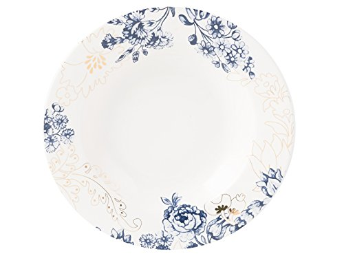 Heritage White Plate (V & A Museum Palmer Seide Suppenteller, China, weiß)