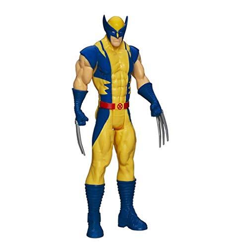 Marvel Toys Avengers Titan Hero-Serie 12-Zoll-Wolverine Action Figure gemeinsame bewegliche Spielzeuge X-Men - Kindergeburtstagsgeschenk-Sammlung - Home Car Decoration - 12 Inch Action-figur Superman
