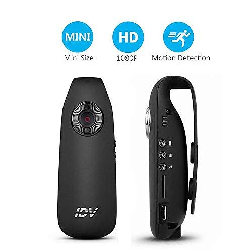 TONGTONG Diktiergerät, Mini-Kamera DV-Loop-Video Diktiergerät HD 1080P 12MP 130 Grad Weitwinkel Geeignet für Vortragssitzungen
