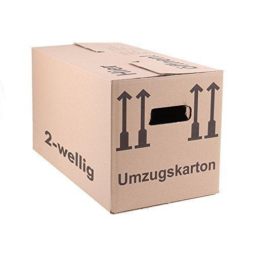 30 Umzugskartons Faltkartons Umzugskisten Movebox 2-wellig doppelter Boden Profi Made in Germany 600 x 330 x 340mm von A&G-heute