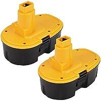 2X 18V 3.0Ah NI-MH Taladro Reemplazo Batería para Dewalt DC9096 DE9095 DE9039 DE9096 DE9098 DE9503 DW9095 DW9096 DW9098