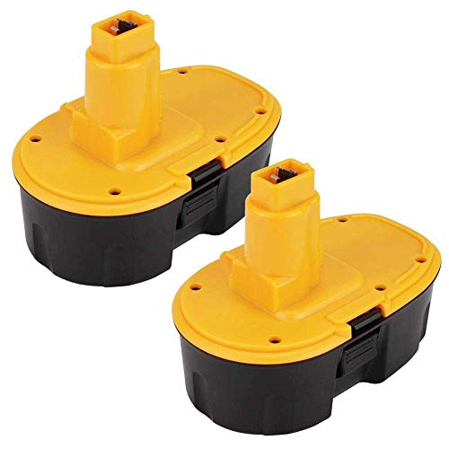 [2-Pezzi]Eagglew Batteria per Dewalt 18V 3.0Ah DC9096 Ni-Mh Sostitutiva DE9039 DE9095 DE9096 DE9098 DE9503 DW9095 DW9096 DW9098 Utensili Elettrici