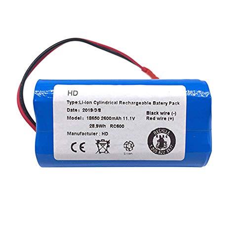 Cikuso Piezas de Repuesto de Batería de Iones de Litio para Ilife X3 V3 V5 V5 V5S V5S Cw310 V7 Deebot...