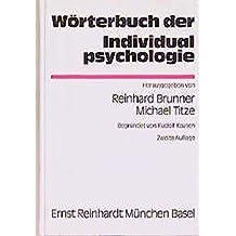 Wörterbuch der Individualpsychologie