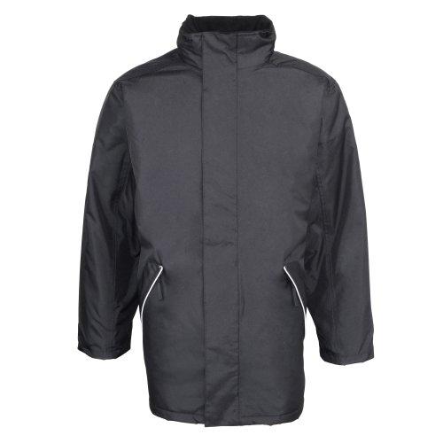 RTY Workwear - Manteau de travail imperméable et coupe-vent - Homme Noir