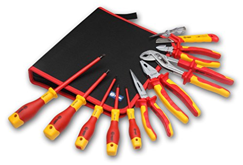BOOHER 0200102 11-tlg. 1000 V VDE isoliert Tools Set
