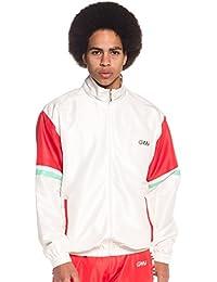 Grimey Track Jacket MANGUSTA V8 SS18 White 7b219f041d2