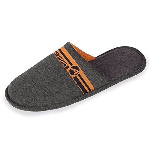 Isotoner Chaussons ATHENA mules homme sport Homme Gris