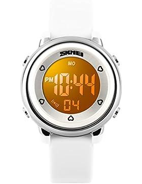 Wasserdichte digitale Uhren/Kindertisch/Gelee-Mode-Persönlichkeit-leuchtet für Mädchen und jungen Watch-A