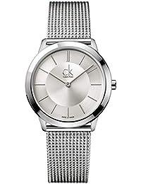 Calvin Klein Reloj Analógico de Cuarzo para Mujer con Correa de Acero Inoxidable –…