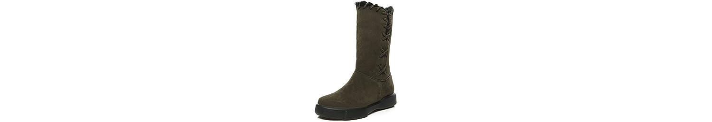 ZHZNVX HSXZ Zapatos de Mujer Invierno Polar Cae Nieve Botas Botas Botas de Moda Puntera Redonda Plana Botines/... -