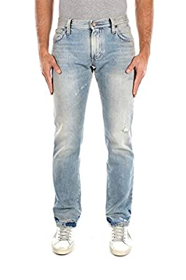 G4B0TPG8N96S9001 Dolce&Gabbana Jeans Men Cotton Blue