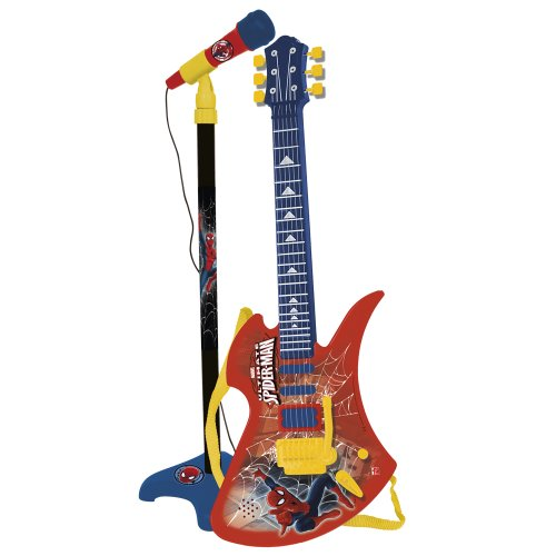 CLAUDIO REIG Set Guitarra Y Micro Spiderman 564