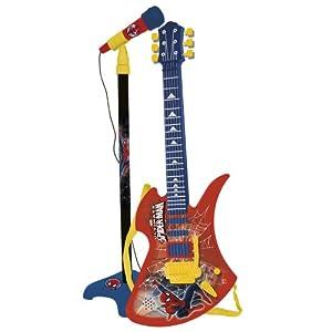 CLAUDIO REIG- Set Guitarra Y Micro Spiderman (564)
