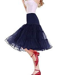 kivie Donna Sottogonne per Vestito Anni 50 Retro Sottoveste Vintage  Petticoats Vintage Rockabilly 0be8757d1d4