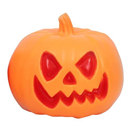 Rotäugige grünäugige glühende Kürbislichter des Geist-Festivals, Halloween-Parteipartei-Atmosphärenlichter,