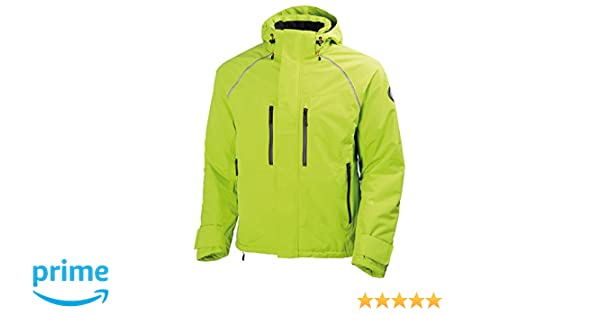 Helly Hansen Workwear Winterjacke Arctic Jacket wasserdichte, isolierte Arbeitsjacke 430, 3XL, gelb, 71335