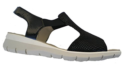 Ara 12-36017 Lido-Sand femme Sandale Bleu