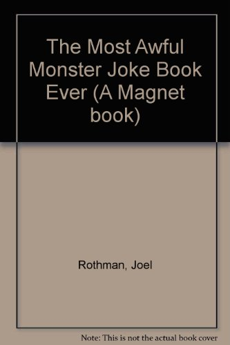 The most awful monster joke book ever