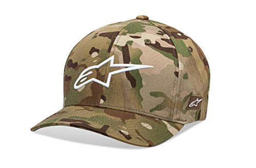Alpinestars Herren Hat Camo Flexfit, Green/White, LXL, 1019-81118 - Green X-large Camo
