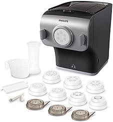 Philips HR2358/12 Macchina per Pasta, Programmi Automatici, Collezione Avance, Grigio/Argento