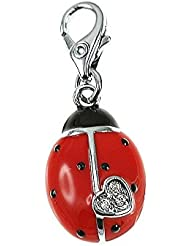 Charm coccinelle rouge So Charm
