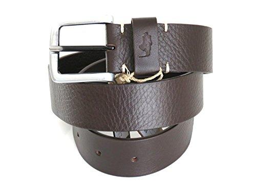 mcs-marlboro-classics-original-belts-ceinture-en-cuir-brun-fonce-avec-boucle-logoed-s-85