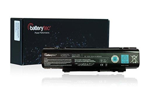 Batterytec® Batterie pour TOSHIBA PA3757U-1BRS PABAS213, TOSHIBA dynabook Qosmio T751 T851, TOSHIBA Qosmio F60 F750, TOSHIBA Qosmio F750 3D, TOSHIBA Qosmio F755, TOSHIBA Qosmio F755 3D. [10.8V 4400mAh,12 mois de garantie]