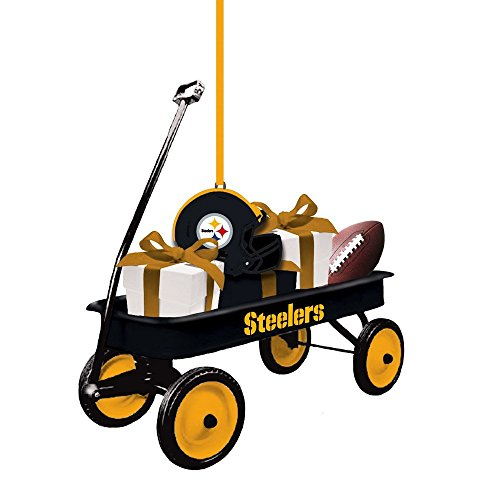 Team Sport Amerika 3ot3824wgn Pittsburgh Steelers Team Wagon Ornament