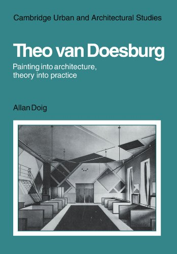 Theo Van Doesburg: Painting into Architecture, Theory into Practice Paperback (Cambridge Urban and Architectural Studies)