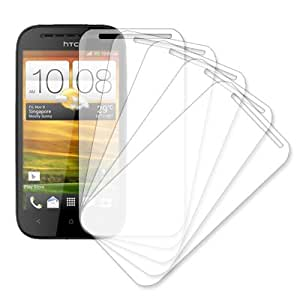 MPERO 5 Pack of Clear Screen Protectors for HTC One SV