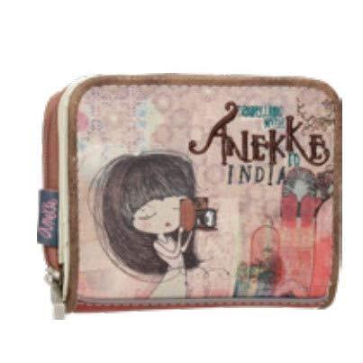 Mini Monedero Estampado Anekke India