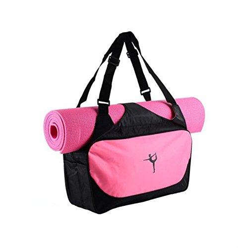 TOOGOO Rosa Multi Funktionale Yoga Rucksack Yoga Matte Wasserdichte Rucksack Yoga Tasche (Ohne Yoga Matte)