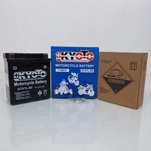 Batteria Kyoto Moto Honda 125 Vt C Shadow 1999-2000 YTX7L-BS / 12 V 6 Ah