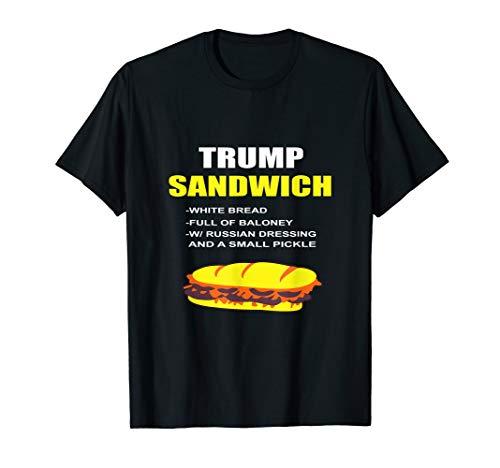 Karneval Kostüm Gurke - Anti-Trump Sandwich Shirt Lustige Amtsenthebung Trump