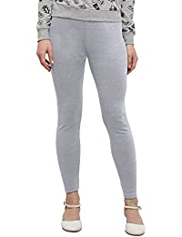 Applecreation Women'S Cotton Leggings (Light Grey_Lga629)