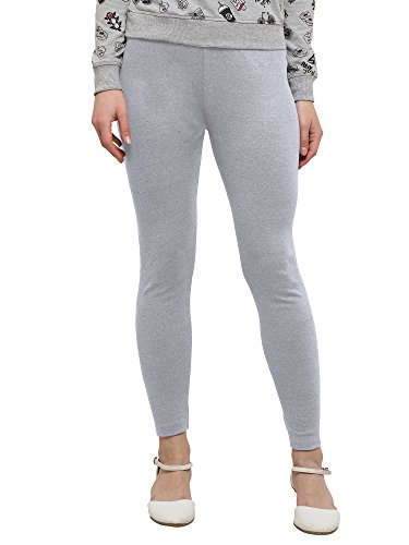 Applecreation Women'S Cotton Leggings (Light Grey_Lga629-S)