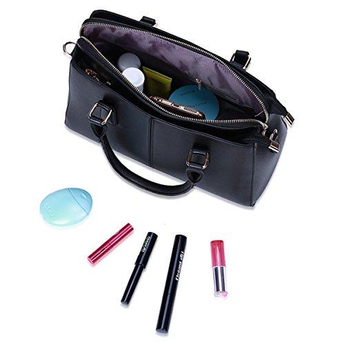 Handtaschen Handtaschen Damen Schulter Messenger Damen Tasche Vier Farben Optional Black