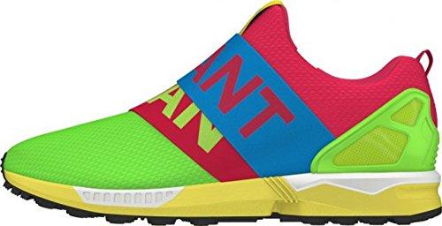 Adidas ZX Flux Slip-On solar green-solar blue2-blaze pink
