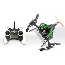 Torro Ufo Quadcoper Tricopter Scorpion 6-Achsen Gyro 4-Kanal Farbe Grün