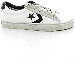 converse all star pelle bianca