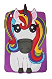 Sloth Cases Unicornio mágico Pony Rainbow Animal Forma 3D Tablet Funda Titular de...