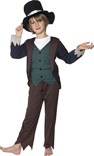 Costume Carnevale Poverello Vittoriano Mary Poppins disney film - bambino